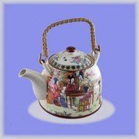 чайник заварочный agness 0 4 л желтый