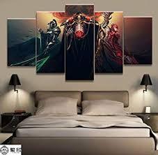 HNFSCLUB Home Decor Modular Canvas Picture 5 ... - Amazon.com