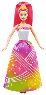 Интерактивная <b>кукла Barbie Радужная принцесса</b> с волшебными ...