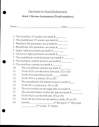 dental assisting worksheets homework and handouts dental dental assisting worksheets homework and handouts