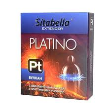 Купить <b>Стимулирующая насадка</b> с усиками Platino Вулкан в ...