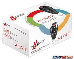 <b>Автосигнализация Alligator A-Light</b>   Характеристики Alligator A ...