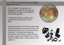 unit 3 ideas and concept in art and design dwilson91 here is my statement