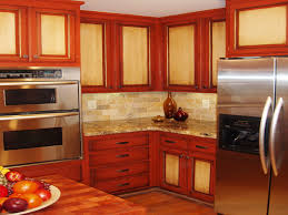 Red Tile Paint For Kitchens Red Kitchen Cabinets Kitchen Nubeling