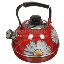 <b>Чайник эмалированный</b> Рубин Ростов С2218 со свистком, <b>3.5 л</b>