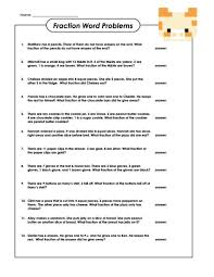 Word problems, Free worksheets and Fractions on PinterestMake basic fraction word problems fun and easy with this free worksheet! #basicfractions #