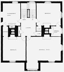 Plate   Tudor House  ground  and first floor plans   British     b  FIRST FLOOR PLAN