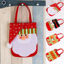 HOT Cute <b>Xmas Christmas</b> Party Decor <b>Gift Bags</b> Sweet Candy ...