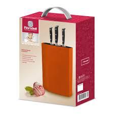 470 Универсальная пластиковая подставка для ножей Orange ...