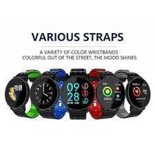 <b>W9 Smart Watch</b> Sport Watch Band Heart Rate Monitor Wearable ...