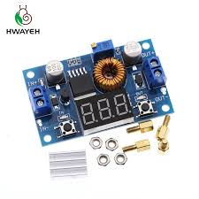 5A 75W <b>XL4015 DC DC</b> Converter <b>Adjustable</b> Step Down Module ...