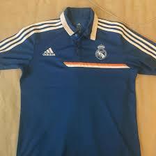 <b>Поло Adidas</b> Реал <b>Мадрид</b> голубая – купить в Москве, цена 1 000 ...