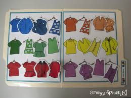 laundry life skill file folders breezy special ed students practice sorting clothing by color a great life skill to prepare to work in