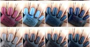 <b>OPI</b> Fall 2017 <b>Iceland</b> Collection: Review and Swatches | The Happy ...