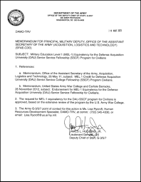 army memorandum for record info acquisition education and training corner usaasc