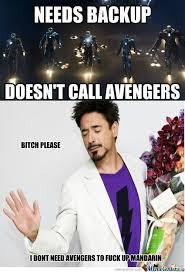 RMX] Iron Man 3 Logic by gagan996 - Meme Center via Relatably.com