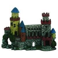 Фигурка для аквариума Prime <b>Замок с двумя</b> башнями PR ...