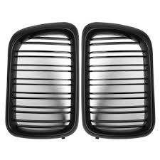 <b>pair</b> matte black abs <b>front kidney</b> grille for bmw e36 1997-1999 Sale ...