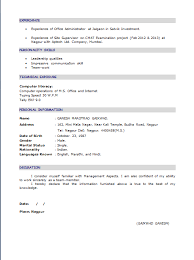 accounts resume fresher resume sample in word document mba freshers resume samples