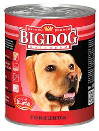 """<b>Консервы</b> для собак <b>Зоогурман</b> """"<b>Big Dog</b>"""", с говядиной, 850 г 0249 ..."""