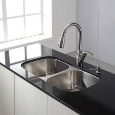 Black Pull Out Kitchen Faucet Sinks Faucets Choosing Right Modern Stylish Stainless Steel Pull