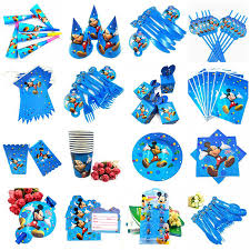 <b>10pcs</b>/<b>set</b> Mickey Mouse birthday party Party Supplies <b>cartoon</b> ...