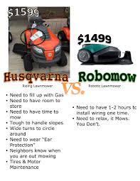 robomow it mows you dont image