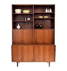 danish rosewood 2 piece secretary by poul hundevad on chairishcom art deco style rosewood secretaire 494335