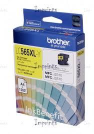 <b>Картридж Brother LC565XLY</b> жёлтый для принтера Brother ...