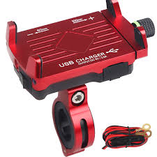 <b>Universal Motorcycle Phone</b> Holder With USB Charger For Iphone ...