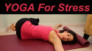 Image result for yoga poses for stress