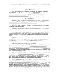 doc lease doc rental house lease sample blank lease agreement template lease 10 lease termination