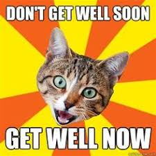 get well on Pinterest | Get Well Soon, I Hate Everyone and Funny Cards via Relatably.com