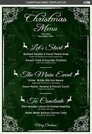 christmas menu template v5 by lou606 graphicriver menu template v5 jpg