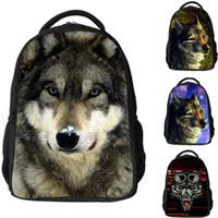 Wholesale Wolf School Bags
