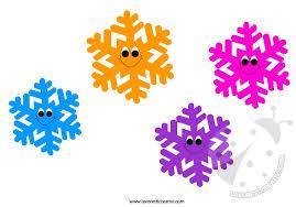 Decorazione Finestre Neve : Sagome fiocchi di neve per decorazioni