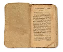 the american crisis before crossing the delaware journal of the thomas paine s the american crisis number i as it was at auction