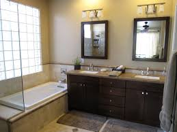 wood bathroom mirror digihome weathered:  wood bathroom vanities pictures of and mirrors design ideas using dark brown solid e with drawers
