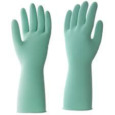 <b>Перчатки латексные</b> HQ Profiline <b>размер</b> L, цвет зеленый в ...