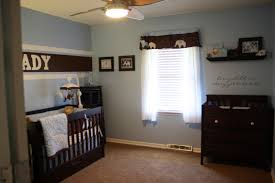 image of baby boy nursery ideas blue and brown baby boy room furniture