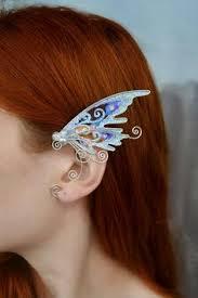 Magic butterfly ear cuff in <b>2019</b> | Products | Wire ear cuffs, Elf ear cuff ...