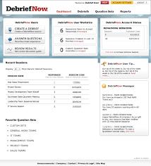 debriefnow goe group for organizational effectiveness debriefnow screen capture