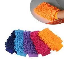 Ultrafine Fiber Chenille Anthozoan Car Wash Gloves Car ... - Vova