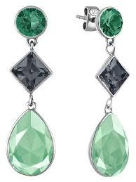Серьги Merci с кристаллами <b>Swarovski</b>. Mademoiselle Jolie Paris ...