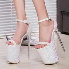 High heels <b>sandals</b>