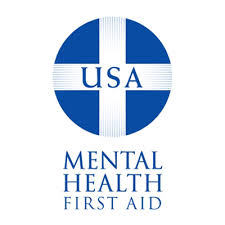 Image result for mental health first aid badges