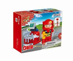 <b>Конструктор Пожарный</b>, 25 деталей <b>Banbao</b> (Банбао) цена: 36 ...