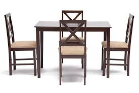 Купить <b>Обеденный комплект Tetchair</b> Hudson Хадсон (стол + 4 ...