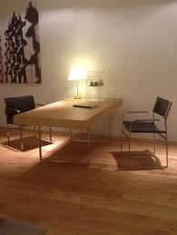 office desk hans j wegner oak stainless steel 190 x 95 x h 72 cm chairs all designed in carl hansen son ch 110 office desk carl