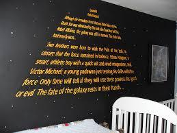 Star Bedroom Decor Star Wars Boys Bedroom